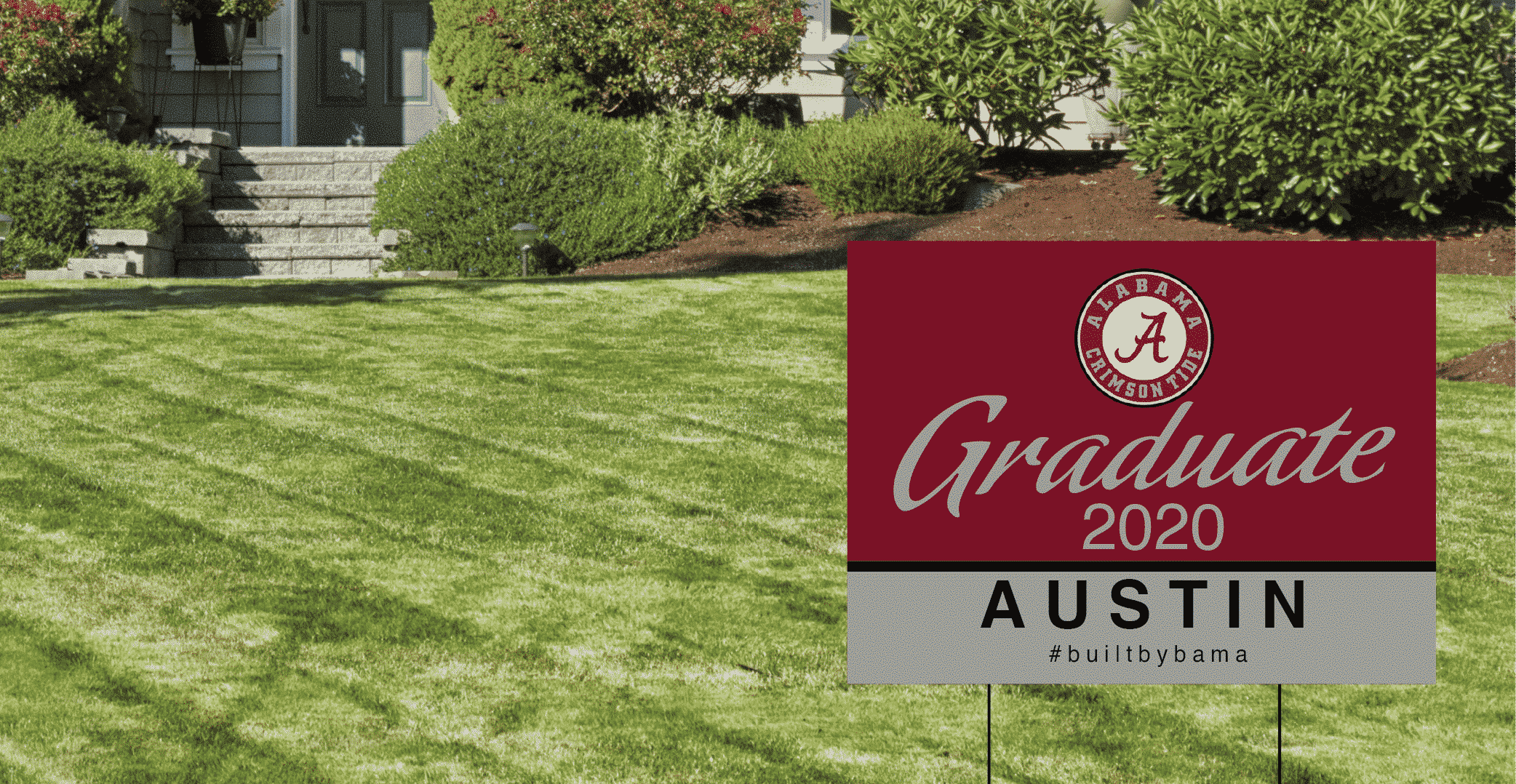 Custom Graduation Yard Signs Alabama Spark Printing